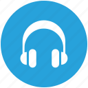 earphone, headphone, headset, listen icon icon