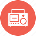 audio tape, cassette, cassette tape, compact cassette, tape icon icon
