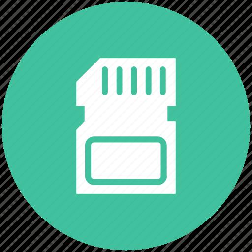 card, memory, micro, sd icon icon