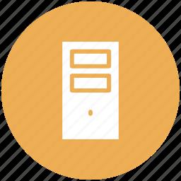 computer, cpu, desktop, personal computer icon icon