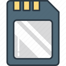 card, dslr, memory icon