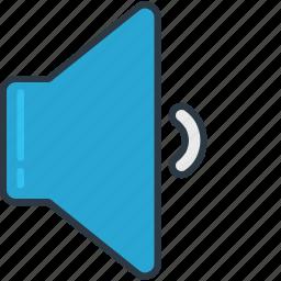 minimum, music, setting, volume icon
