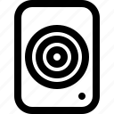 stereo, device, speaker, bass, audio