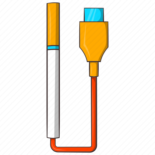 battery, cartoon, charger, cigarette, device, electronic, usb icon