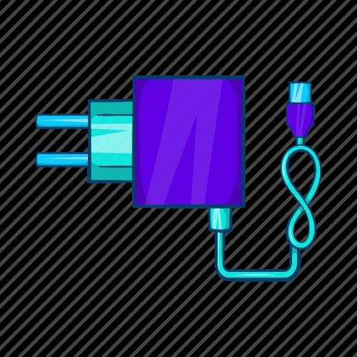 cartoon, cigarette, electric, electronic, nicotine, plug, vaporizer icon