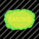 gas, effect, air, fog, smoke, cartoon, cloud icon