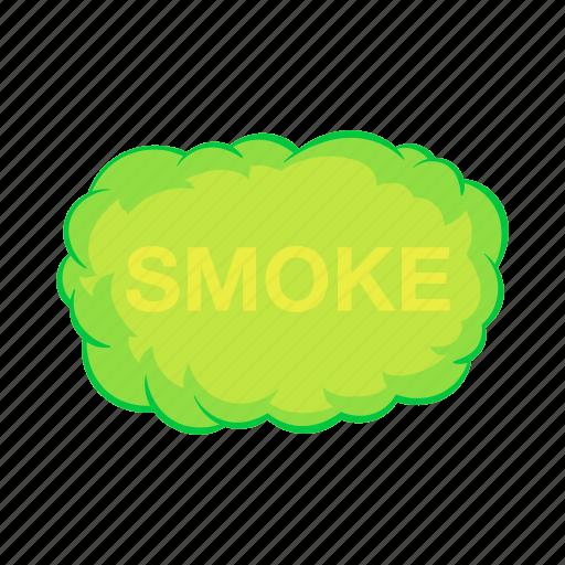 air, cartoon, cloud, effect, fog, gas, smoke icon