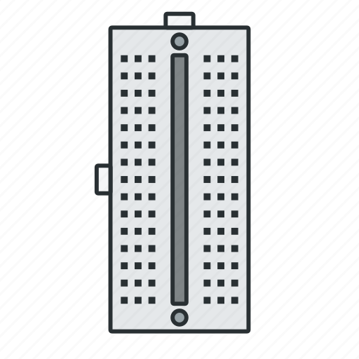 arduino, breadboard, circuit, current, electronic, prototype icon