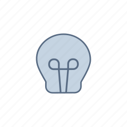 bright, bulb, component, current, electronic, idea, light icon