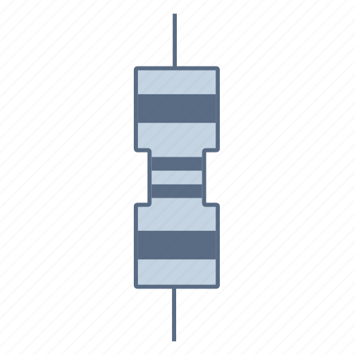 circuit, coil, component, current, electronic, inductor, resistor icon