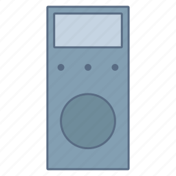 circuit, current, electronic, measure, multimeter icon