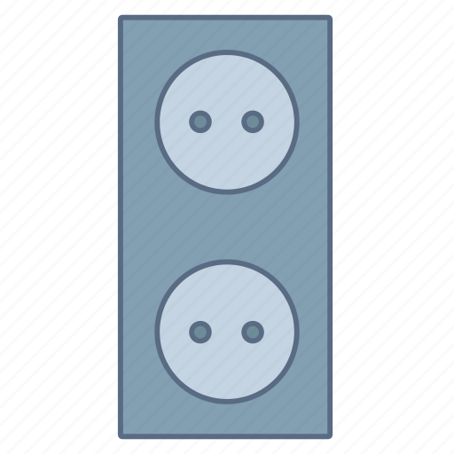 circuit, current, power, socket, supply, voltage icon