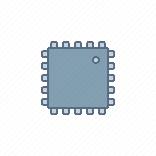 atmega, circuit, component, current, electronic, microcontroller, uc icon