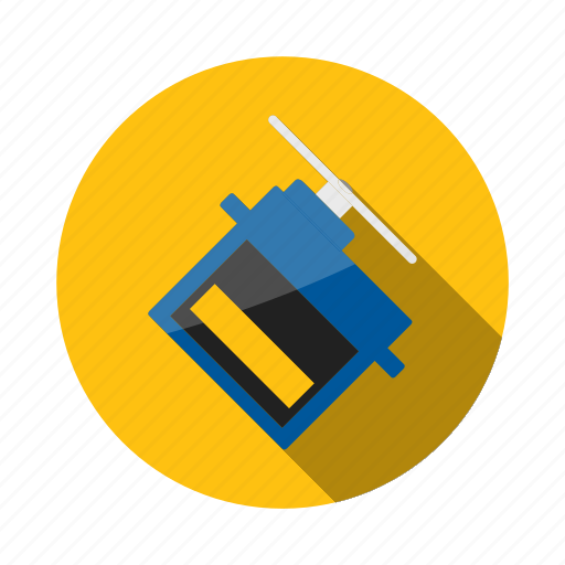 Arduino, circuit, component, current, electronic, motor, servo icon - Download on Iconfinder