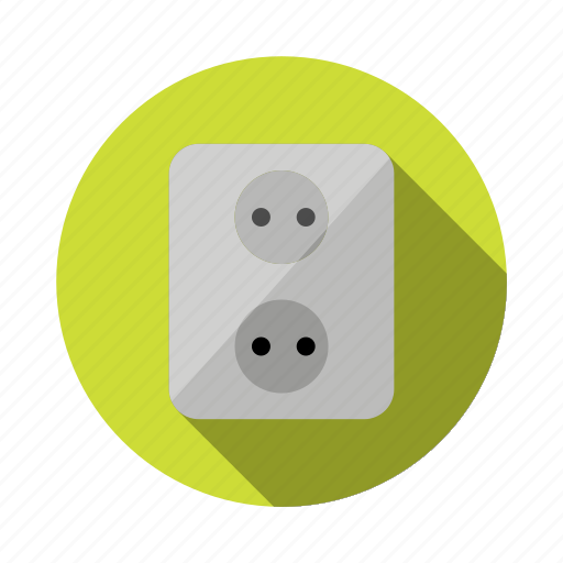 circuit, component, current, electricity, electronic, energy, socket icon