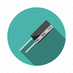 arduino, capacitor, charging, circuit, component, current, filter icon