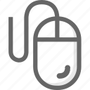 computer, mouse, options icon