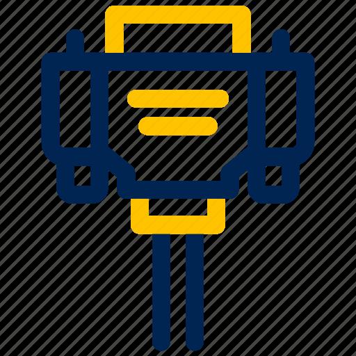 cable, eletronic, hdmi port icon