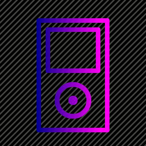 apple, device, fun, ipod, music, nano, sound icon