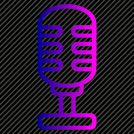 announcement, audio, loud, mic, microphone, radio, studio icon