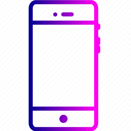 cell, handheld, iphone, mobile, phone, smart icon