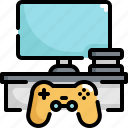 console, device, electronic, entertainment, gadget, game, joystick icon