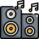 device, electronic, gadget, loudspeaker, sound, speaker icon