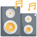 loudspeaker, media, megaphone, multimedia, music, sound, speaker icon