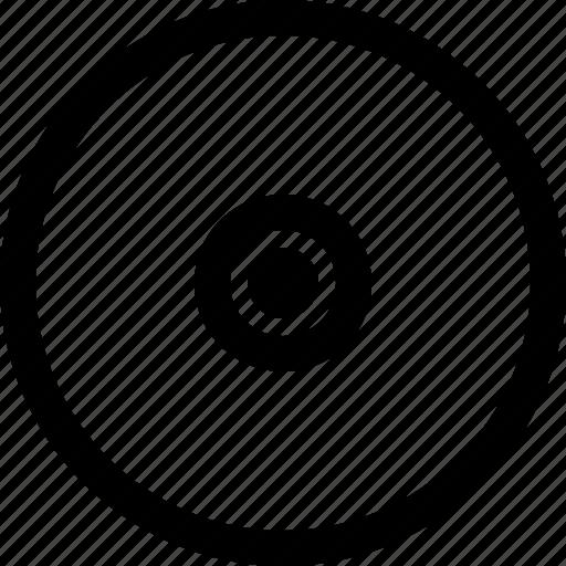 cd, data, disc, file, multimedia, music, video icon