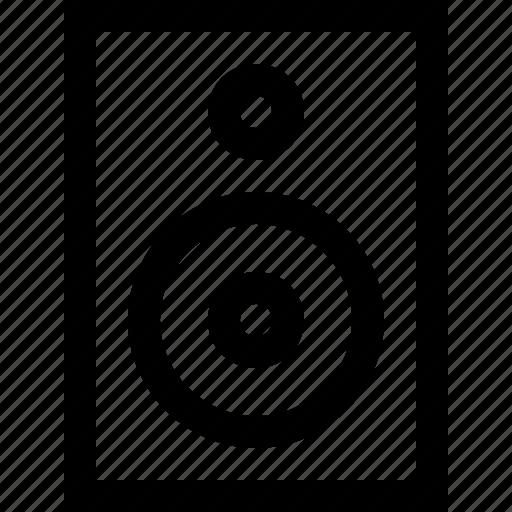 audio, music, musical, player, sound, speaker, volume icon