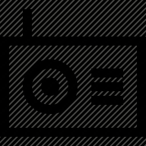audio, media, music, network, radio, speaker icon