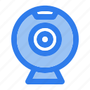 cam, camera, device, electronic, multimedia, video, webcam icon