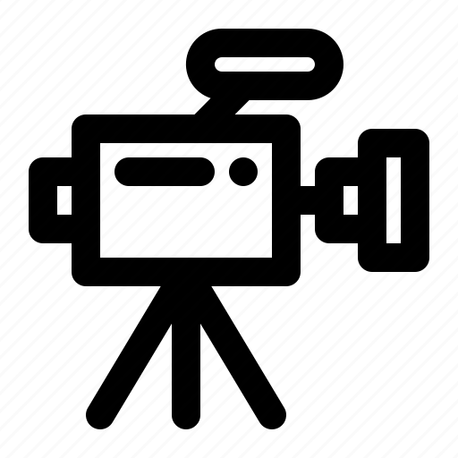camera, device, electronic, media, multimedia, record, video icon