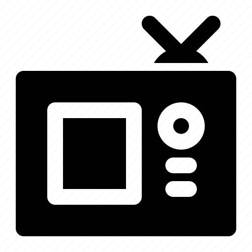 channel, device, electronic, multimedia, retro, television, tv icon