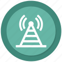 antenna, radio, signal, wifi icon