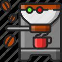 appliance, coffee, drink, kitchen, machine, maker