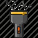 electric, flash, flashlight, torch