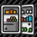 freezer, fridge, refrigerator, electronic