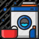 laundry, washing, machine, electronic