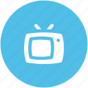 electronics, old tv, retro tv, technology, tv, tv set, vintage tv icon
