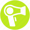 devices, electronics, hairdryer, products, technology icon
