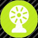 cooler, energy, fan, ventilator wind