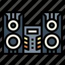 audio, electronics, speakers, stereo icon