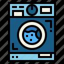 furniture, household, laundry, machine, washing icon