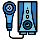 electronics, furniture, heater, water icon