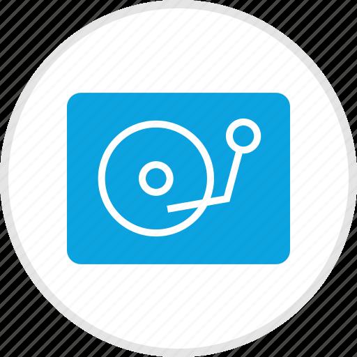 dj, electronic, gadget, player icon