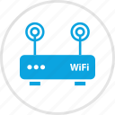 antenna, double, electronic, gadget, wifi icon
