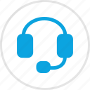 customer, electronic, gadget, headphones, service, speaker icon