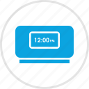 alarm, clock, electronic, gadget, time icon