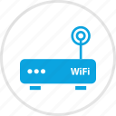antenna, electronic, gadget, single, wifi icon